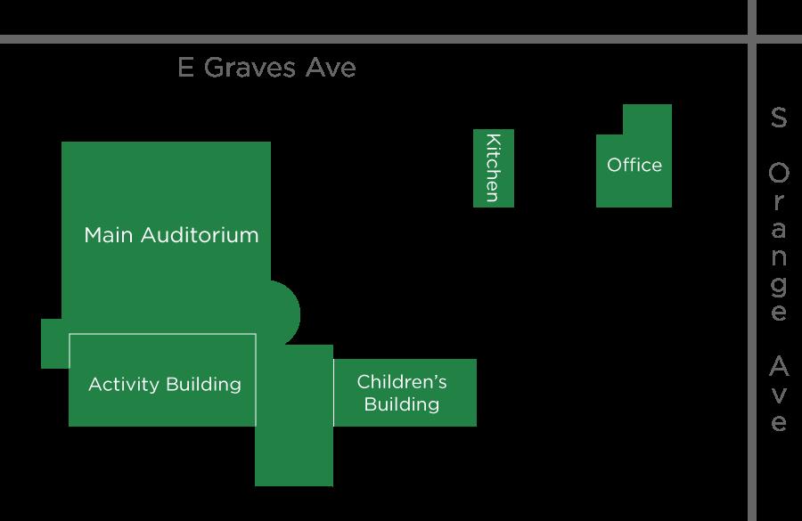 Volusia Baptist Property Map